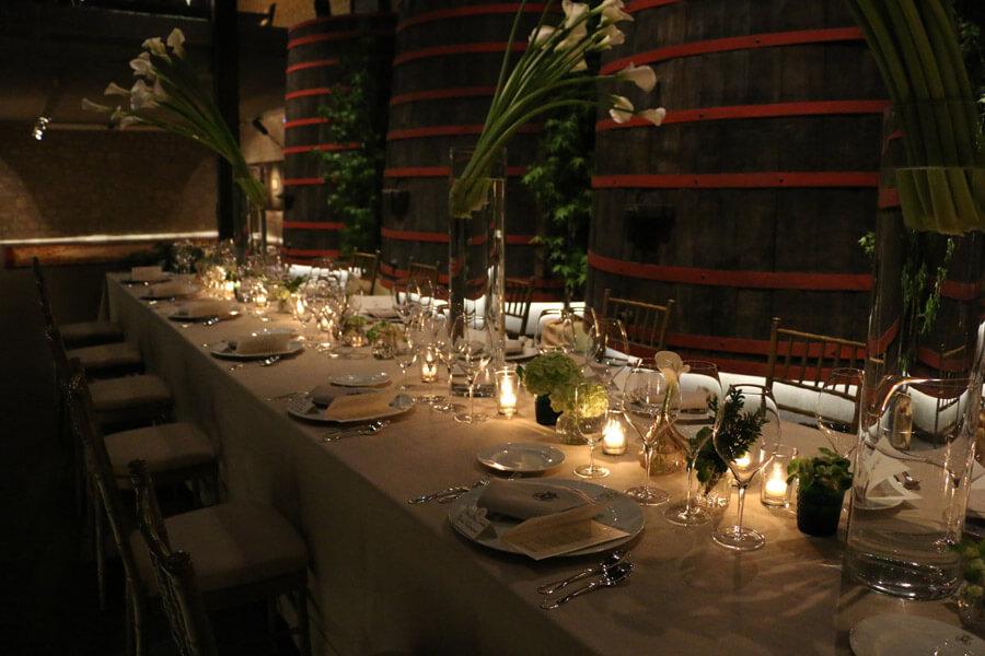 Luxury tableware and cutlery