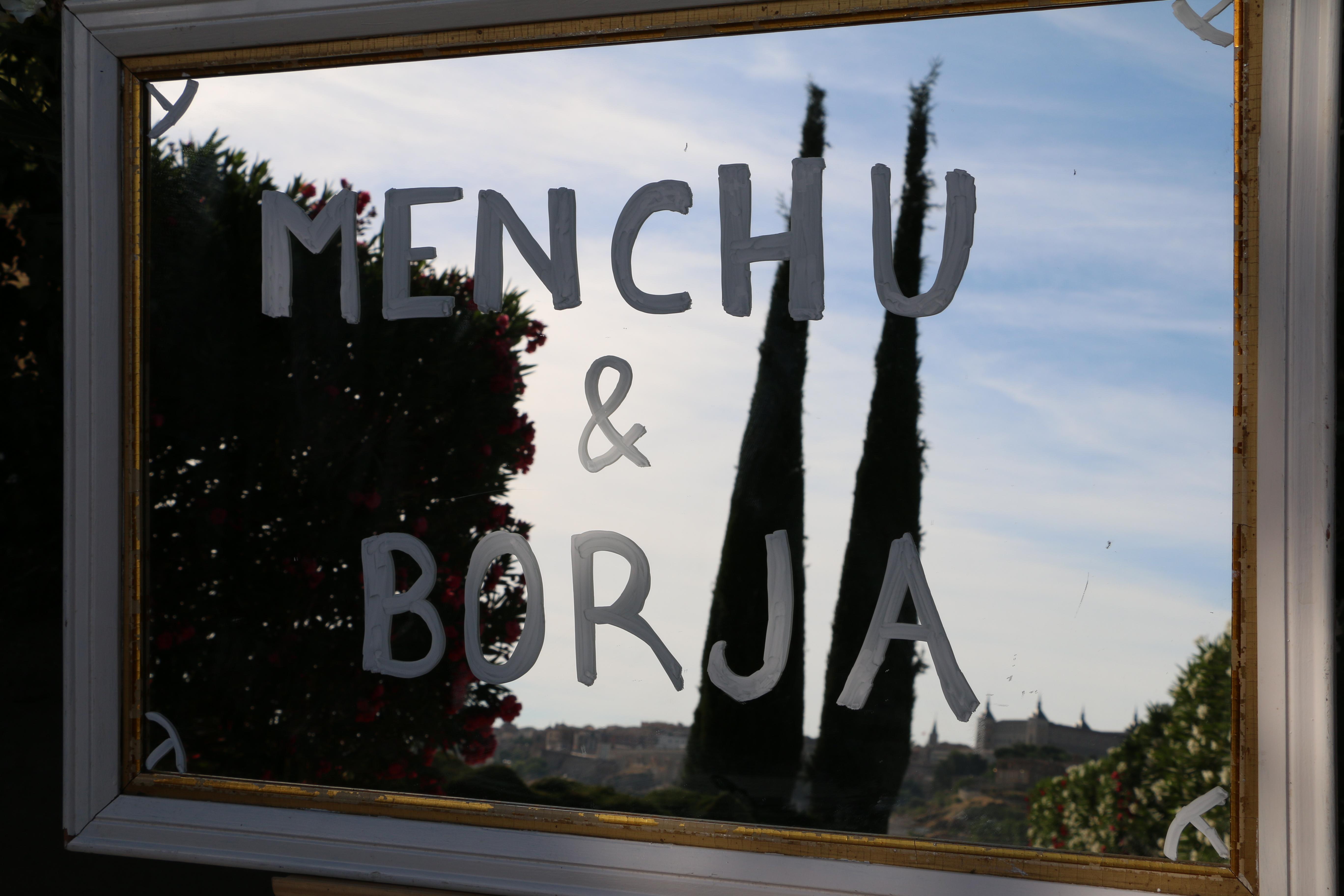 Menchu and borja wedding