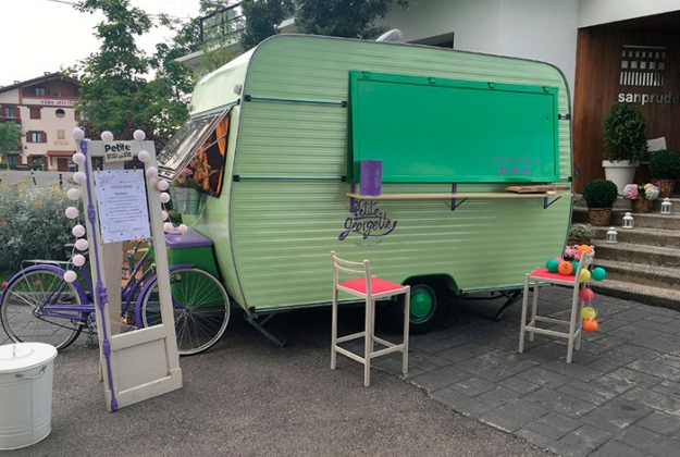 Un food truck en un evento de Eventus